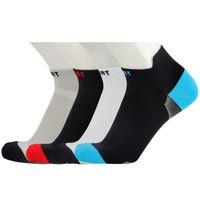Sports Socks 3 Pair Men's Sport Breathable Cotton Basketball Running Trekking Travel Football Soccer Cycling