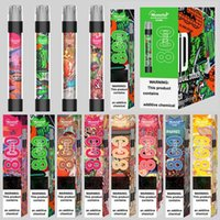 100% Original Monster Shine E-sigarette E-sigarette Dispositivo 800 sbuffi 550mAh 3.0ml Cartuccia precompilata Pod Flash Light VS Bar Plus