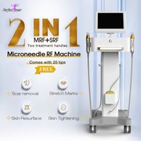 Oro fraccional RF Microneedle Radio Frecuencia Micro Aguja Piel Apretar Anti Arrugas Stretch Mark Therapy Therapy System Máquina de Belleza
