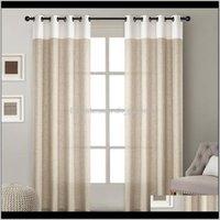 Современное белье Blackout занавес сплошной цвет простой сращивание для гостиной спальни окна шторы Драпы висит стержень жалюзи IAHQA H94OI