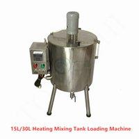 15L / 30L Isıtmalı Karıştırma Tankı Dudak Macunu El Yapımı Sabun Vazelinin Mum Kozmetik Dolgu