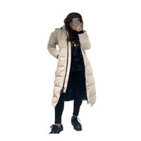 Womens Winter Sportswear Down Jacket Parkas White Duck Windproof Outdoor Leisure Parker Long Leather Collar Hat Warm Real Wolf Fur Classic Adventure Couple Models