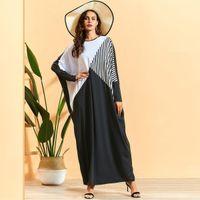 Ramadan Turkey Muslim Abaya Women Hijab Dress bat sleeve robe Eid Moroccan Kaftan Djellaba Jilbab Vestidos Islamic Clothing