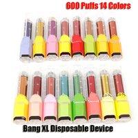 Bang Device Disposable XL Kit Pen 450mAh Xtra XXL Prefilled 2ml Pod Battery Vape 600 VS Plus Bar Puffs Ipelm