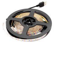 Tiras USB 5 V Neon LED Strip Light SMD 2835 50 cm 1m 2M 3M 4m 5m 6m 60LED / M Backlight de TV 5 V Lâmpada Diodo