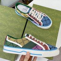 Designer 1977 Sneaker Leinwand Schuh Waschen Jacquard Denim Frauen Schuhe Ass Gummi Sohle Gestickte Vintage Lässige Turnschuhe Größe 35-45 US5 US11