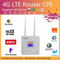 Fiber Optic Equipment KuWfi 4G Sim Card Wifi Router CAT4 150Mbps Wireless CPE LTE FDD TDD Unlock With External Antennas WAN LAN Kuwifi