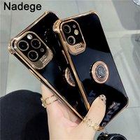 Luxury black bling plating Phone Case For iPhone 12Pro 12 Pro Max 7 8 Plus X XS XR 11pro MAX 11 Pro 12mini SE Soft cover