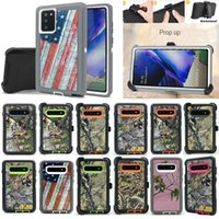 Defender 3in1 Hybrid Robot Phone Cases Heavy Duty Kickstand Shockproof Waterproof Case With Belt Clip Holster For iPhone 12 11 Xs Max 6 7 8 Plus Galaxy S10 Note 20 Ultra