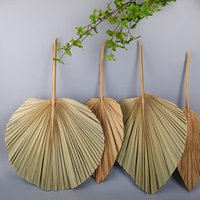 Palm Fan Leaf Dried Flower Window Reception Party Art Wall H...