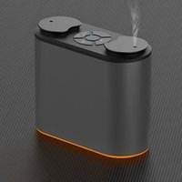 Humidifiers Essential Oil Aroma Diffuser Double Spray Aluminum Shell Portable Waterless Aromatherapy No Water Scent Machine, Purifying Air