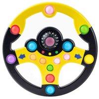 Giocattolo per bambini Puzzle Copilota Volante Push Bubble Colore Cucitura Giocattoli Decompressione Tablet per bambini Giochi di apprendimento Simulazione Gioco di guida G61eF51