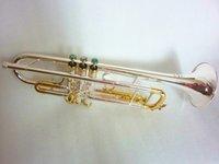 الفضة مطلي باخ البوق LT180S-72 الموسيقى أداة الموسيقى BB البوق الدرجات المفضلة البوق الأداء المهنية الموسيقية والصندوق الصلب