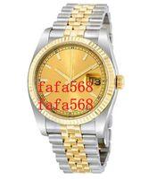 fafa568 202122 белые часы мужчины 36 мм автоматическое оборудование серебряные часы без батареи нержавеющая сталь дата просто подметание движения оптом завод