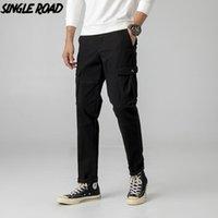 SingleRoad Mens Sweatpants Joggers Men 2021 Summer Harajuku Black Japanese Streetwear Trousers Casual Fashion Pants For Men's