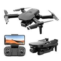 E5 S68 Drone Mini Drone 4K Profesional HD Camera WiFi Fpv Air Pressure Altitude Hold Black Foldable Quadcopter RC Dron Toy
