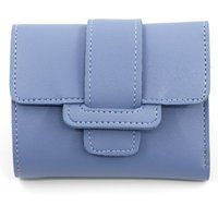 Wallets Korean Version Of Solid Color With Three Fold Women's Wallet Zero Handbag Student Short