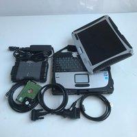 أدوات التشخيص EST MB ستار C6 التشخيص VCI Protocol 2021.06V البرمجيات HDD مع Laptop CF-19 4G Toughbook CF19 مجموعة كاملة