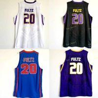 NCAA Washington Huskies Markelle College # 20 Fulz Jersey Purple Black White Dematha High School Markelle Blue Fultz Maglie di basket