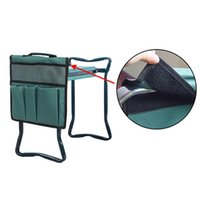 Tragbare Oxford-Garten-keeler-Sitzwerkzeugtasche Outdoor-Arbeitswagen für den Kniehocker Gardening-Tools Aufbewahrungsbeutel Toolkit-Taschen