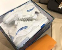 2020 Erkekler Spor Ayakkabı Trainer Sneakers TPU Kombinasyonu Büyük Taban Deri Yastıklı Ayak Örgü Astar Rahat Ayakkabılar Boyutu 39-45 A4