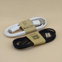 S4 Kablosu Mikro V8 Kablo 1 M 3ft OD 3.4 Mikro V8 5Pin USB Veri Sync Şarj Kablosu Akıllı Cep Telefonu Android Telefon Için