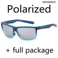 Polarisée de nouvelles lunettes de soleil de pêche complètes de qualité supérieure surfant avec des lunettes de marque UV400 2020 Eye de mer Ring Forfait BDKVN