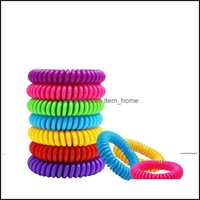 Control Household Sundries Home & Garden Natural Safe Mosquito Repellent Bracelet Waterproof Spiral Wrist Band Outdoor Indoor Insect Protect