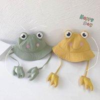 Baby Bucket Hat Summer Kids Caps Cartoon Boys Girls Accessories Cute 2-6Y B5729
