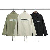 2021 Men S Giacche Casual Outfit Casual Manica Lunga Vento Vintage Breakbreaker Primavera Estate Cappotti Autunno Cappotti Uomo Donna Street Style Top Quality