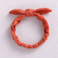 Hair Accessories Oaoleer Baby Elastic Bands Girl Headband Cotton Linen Kids Headwear For Children Turban Babies Ribbons