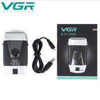 VGR Shaver Electric Electric Recipcing Test Oil Head Whitening Macchina finitura rasata testa clipper per capelli rasoio