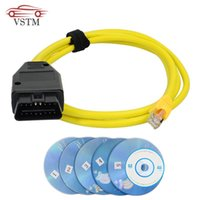 Diagnostic Tools 2021 Est ESYS Data Cable For ENET Ethernet To OBD Interface E-SYS ICOM Coding F-serie