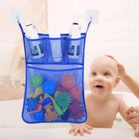 Storage Bags 2Pcs Bathroom Breathable Quick Dry Hanging Mesh Bag Baby Kids Bathing Toy Organizer Net Pouch Supplies