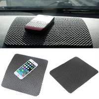 Автомобильная приборная панель липкий накладки коврик антискользящий гаджет мобильного телефона GPS держатель интерьера предметы аксессуары горячие бесплатно