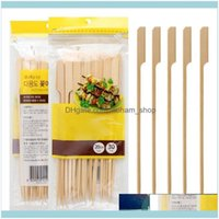 Aessories Cooking Eating Patio, Lawn Garden Home & Garden30 Pcs   Set Toothpicks Barbecue Grill Outdoor Tools Bamboo Skewers Portable Weddin