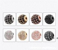 New8mm Bead Azorite DIY Ornamento Micro Diamante Set Round Hand Grânulos Elegante Elegante Ornamentos Frisados Mãos Fino e Barato Artes EWF60