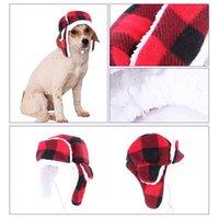 Warm Plush Winter Pet Hat Pets Beret Headgear Dogs Windproof Creative Dog Apparel