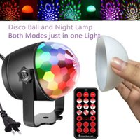 Effects Mini Disco Ball Party Light Sound Activated Laser Projector Stage Lighting Effect Lamp Christmas Decorations Night