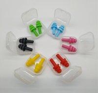 Tapones de silicona para los nadadores con tapones para las orejas suaves y flexibles para viajar para dormir a reducir el ruido al por mayor