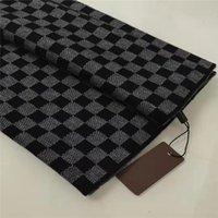 Mode Wollschal für Männer Designer Schal Lange Schals für Herrengröße 180 * 30 cm ohne Kiste
