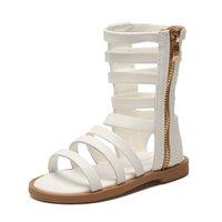 Sandalias Cuzullaa Niños Cut-Outs Beach Niños romanos Zapatos de verano para 2021 Gladiator Size 21-30