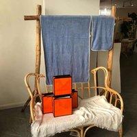 luxury design modern letter beach towel set bath home towels unisex cotton high quality birthday gift 2pcs
