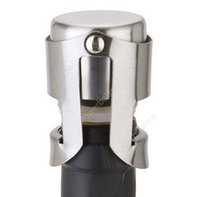 Stainless Steel Wine Stoppers Vacuum Sealed Wine Bottle Stoppers Plug Pressing Type Champagne Cap Cover Storage DHP48