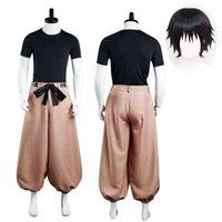 Jujutsu Kaisen Fushiguro Touji Cosplay Costume Halloween Party Uniform Pullover Hoodies Pants Outfit for Men Women