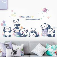 Wall Stickers Baby Room Eco Friendly Decal Kids Self Adhesive Film For Cute Animals Wallpaper Nursery Decoration