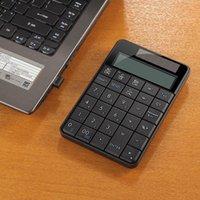 Keyboards 2.4G Mini 2-in-1 Wireless USB Numeric Keypad With Calculator Display Screen Compatible Windows XP 7 8 Membrane Keyboard4.20