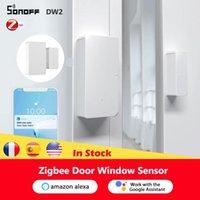 Smart Home Control Sonoff SNZB-04-ZIGBEE DOOR and Window Sensor E-Welink التطبيق لاستخدامه مع Google Zbbridge Alexa