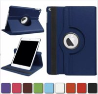 360 Rotating Flip PU Leather Stand Case For iPad 10.2 Pro 11 10.5 9.7 2 3 4 5 6 Mini Samsung Tab P200 T510 T515 T720 T590 T860 T290