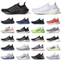 Schuhe Adidas Ultra Boost 2021 Ultraboost 20 Herren Damen Laufschuhe Tennis Dreifacher schwarzer weißer 4 grauer Panda Männer Frauen Turnschuhe Trainer Outdoor Jogging Walking